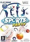 Sports Party (Nintendo Wii, 2008) - European Version
