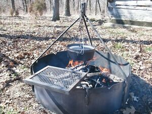 36-034-Fire-Ring-with-Tripod-amp-Swing-Grate