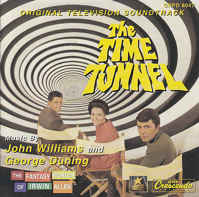 The Time Tunnel-1967-TV Series-Original Soundtrack- CD