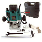 """Electric Visual 2hp Electric Plunge Router Kit Fits 1/2"""" & 1/4"""" Shank"""