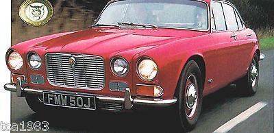 Jaguar Xj6/xj-6 Spezial Folie 1970 Broschüre 1968,1969