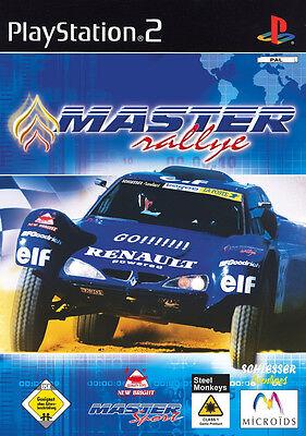 Master Rallye (Sony PlayStation 2, 2003, DVD-Box)