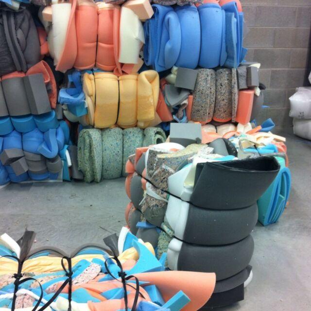 bale foam off cuts scrap upholstery foam. craft / packaging use. great price!!!