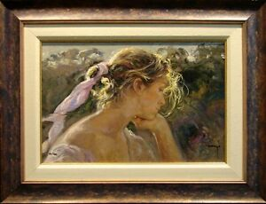 Royo-Armonia-Hand-Signed-Serigraph-on-Panel-1999-Custom-Frame-SUBMIT-AN-OFFER
