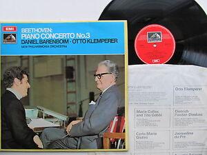 Beethoven-Piano-Concerto-No-3-12-034-LP-Barenboim-Klemperer-EMI-ASD-2579-England