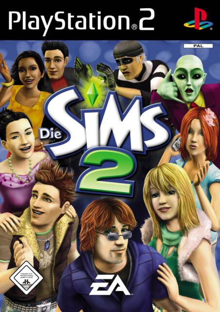 Die Sims 2 (Sony PlayStation 2, 2005, DVD-Box)