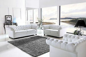 Modern Real Leather Sofa/Loveseat/Chair by Le Confort