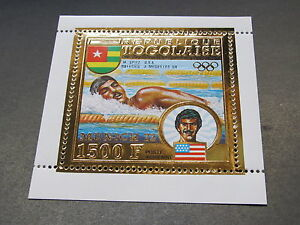Togo C194A Mint lightly hinged Summer Olympics Munich 1972 US Swiming x10891