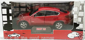 WELLY-Auto-Club-BMW-X6-Diecast-Model-Car-1-43-Pull-Back-Motor-Opening-Doors