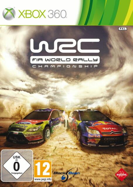 WRC: FIA World Rally Championship (Microsoft Xbox 360, 2010, DVD-Box)