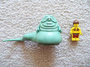 Lego Star Wars - Rare Original Jabba Princesse Hutt & Slave Leia 4480