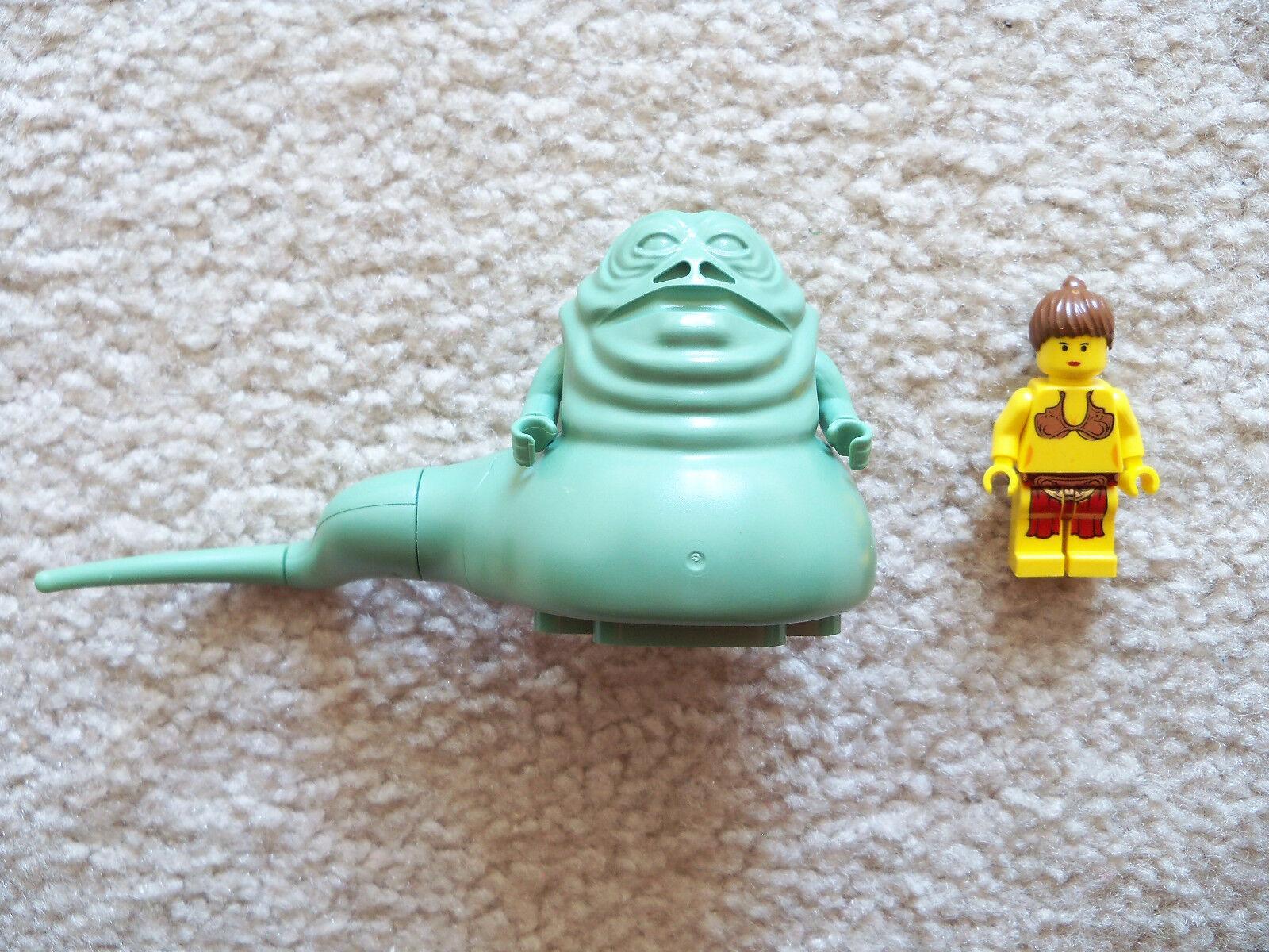 LEGO Star Wars - Rare Original Jabba the Hutt & Slave Princess Leia 4480
