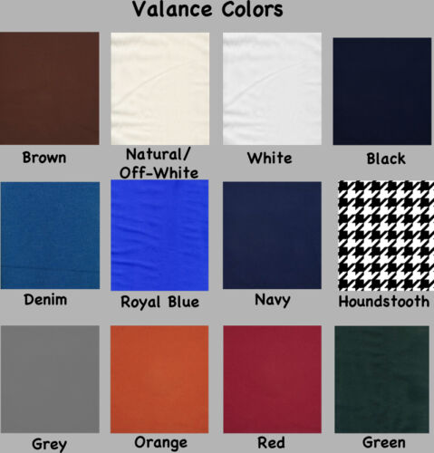 Appaloosa Horse Window Valance Curtain Choice of Colors*