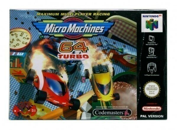 Micro Machines 64 Turbo (Nintendo 64,  cart only N64