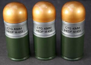 3x-Toysoldier-US-Army-Dummy-40mm-Grenade-m203-M433