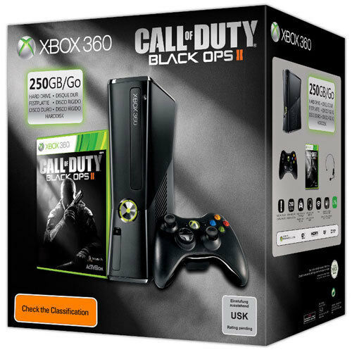 XBOX 360 250GB Console Call of Duty Black Ops 2 Bundle PAL AUS *NEW!*