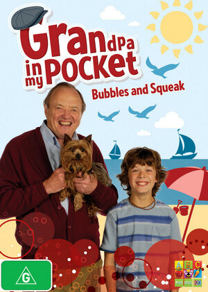 Grandpa In My Pocket - Bubbles And Squeak (DVD, 2011) Region 4 ABC Kids DVD VGC