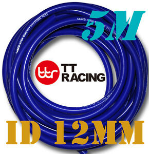 12mm-Silicone-Vacuum-Tube-Hose-Tubing-Radiator-Breather-Air-Pipe-5M-5-meters