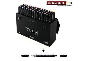 ShinHan-Touch-Twin-Marker-60er-Set-A-Colorless-Blender-wiederbefuellbar