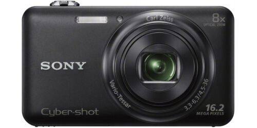 Sony Cyber-Shot DSC-WX80 16.2 MP Digital Camera - Black (Latest Model)