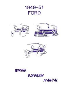 FORD 1949, 1950 & 1951 Car Wiring Diagram Manual | eBay