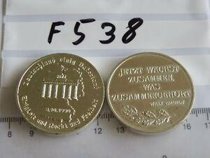 Medaille-Deutschland-einig-Deutschland-3-10-1990-F538