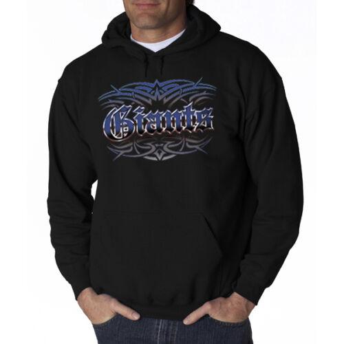 Xl Medium Style Giants Sweatshirt Hoodie 3x Hooded 2x Small Large Tattoo New zwqBRR