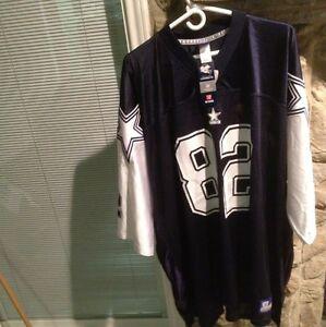 30508ddc558 Men's Size 5X Reebok Dallas Cowboys #82 Jason Witten Jersey Rare NWT ...
