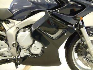 Yamaha-FZ-6-04-06-Fairing-Lowers-Black