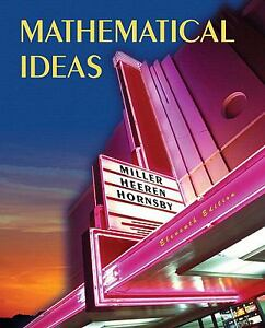 Mathematical ideas, expanded edition a la carte plus (11th edition.
