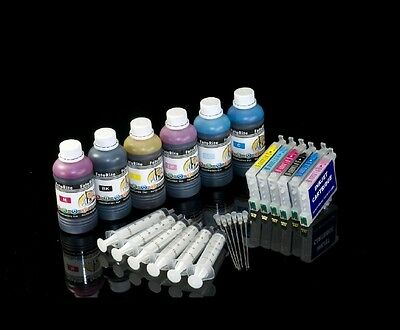 non oem CISS REFILLABLE DYE INK CART FITS WITH EPSON R200,R220,R300,R300M