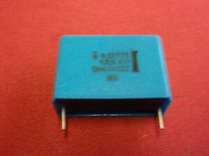 KONDENSATOR 6,8µF 100V blau 31x22x13mm 21950-24