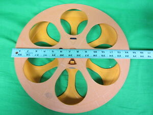 """15"""" 2000 ft capacity 35mm Plastic Motion Picture Reel"""