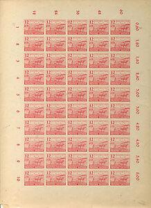 SBZ-86-Bogen-mit-Plattenfehlern-V-und-VII-BPP-gp-Maengel-B01212