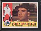 1960 Topps Bobby Richardson #405 Baseball Card