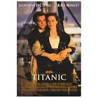 Titanic Poster Movie 27x40 Kate Winslet Leonardo DiCaprio Billy Zane