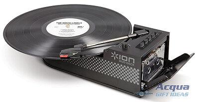 Records LP Vinyl / Cassette Tape Player Transfer LP Tape to PC MAC Mp3 CD NIB