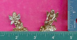 6 wholesale lead free pewter fairy figurines C3022