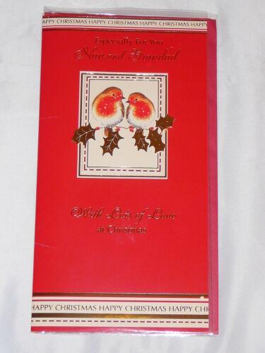 CHRISTMAS CARD GRANDMA  GRANDAD OR NAN GRANDPARENTS ME TO YOU TATTY TEDDY TRAD