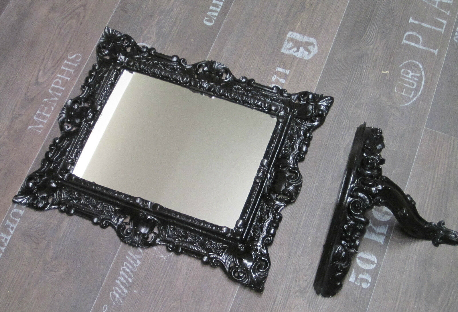 wandspiegel spiegel spiegelkonsole konsole 2er set antik barock