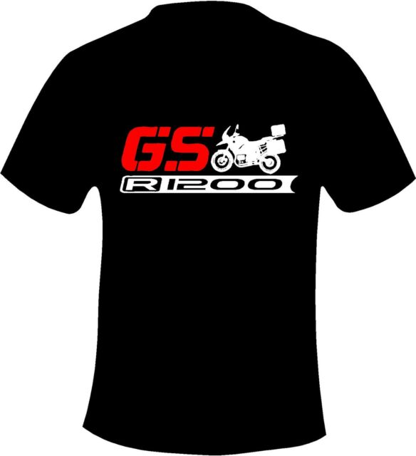 BMW R1200 GS Motorcycle Printed T Shirt in 6 Sizes