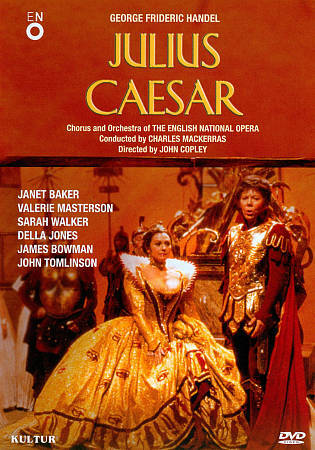 Julius Caesar (English National Opera) (DVD, 2011) Handel NEW FREE SHIPPING
