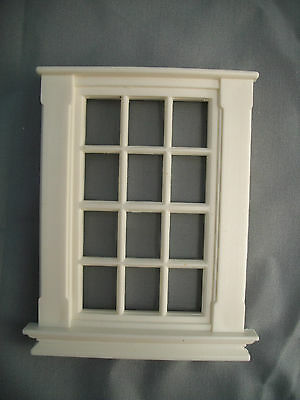 Half Scale 1:24 Georgian 12 Pane Window Jackson's Miniatures  Dollhouse  #L4
