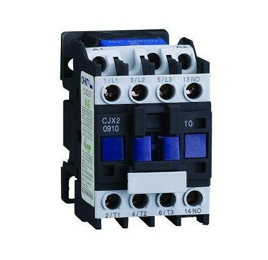 AC Contactor Motor Starter Relay (LC1) CJX2-0910 3P+NO 220/230V Coil 9A 2.2KW