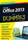 Office 2013 Fur Dummies by Wallace Wang (Paperback, 2013)