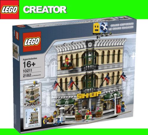 LEGO Exclusive 10211 Grand Emporium Department Store 2182 Pieces BNISB