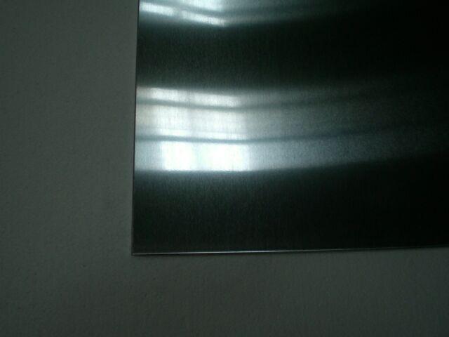 Alu Aluminiumblech 10x10x0,05 cm AlMg3 Alublech  Blech Platte Glattblech W