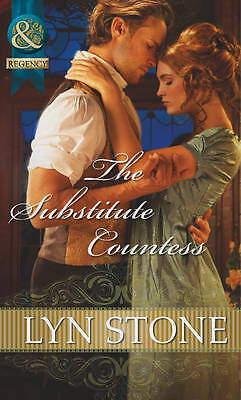"""""""VERY GOOD"""" Stone, Lyn, The Substitute Countess (Mills & Boon Historical), Book"""