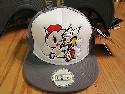 Tokidoki New Era Hat Thor 9Fifty Adjustable Snapback Trucker Hat NWT