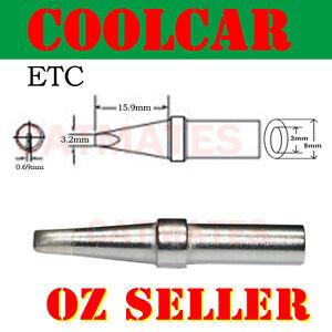 Solder Soldering Station Tip ETC for Weller PES51 PES50 WES51 WESD51 EC1204A OZ